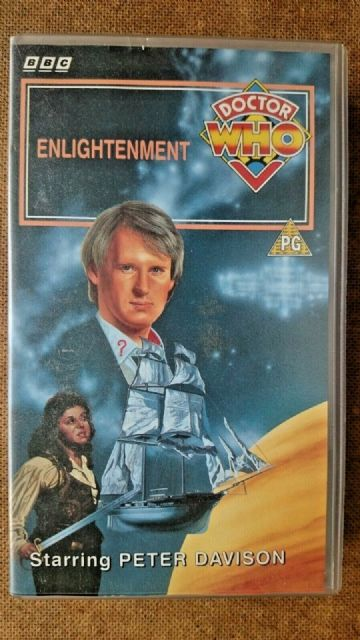 Doctor Who Enlightenment  (VHS, 1993) Peter Davidson